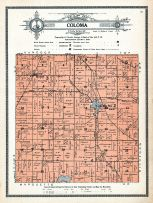 Coloma Township, Waushara County 1914